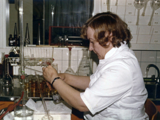 kvvy historia Inkeri Venäläinen laborantti