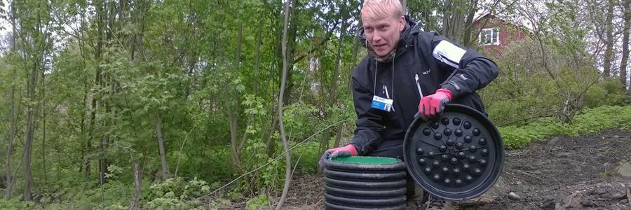 Haja-asutuksen jätevesineuvonta - KVVY