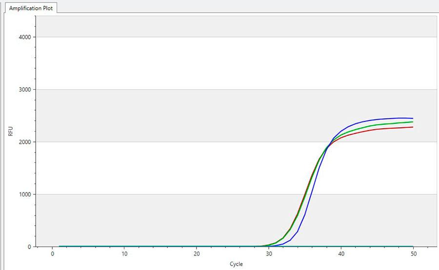 PCR-analyysin syklikäyrä